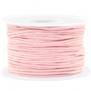 Waxkoord 1.5mm Light pink