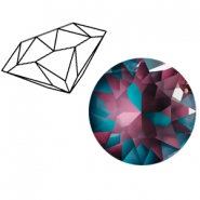 Swarovski Elements puntstenen 1088-SS 39 (8mm) Crystal burgundy DeLite