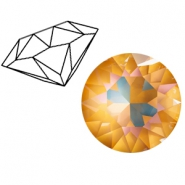 Swarovski Elements puntstenen 1088-SS 39 (8mm) Crystal ochre DeLite