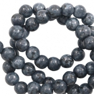 8 mm kralen natuursteen Anthracite