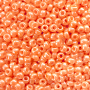 Miyuki 11/0 rocailles Opaque luster light orange 11-423
