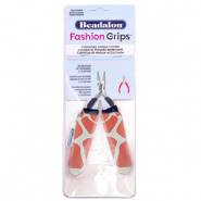Fashion grips tangen covers giraffe Beadalon Oranje-wit