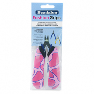 Fashion grips tangen covers giraffe Beadalon Roze