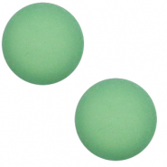 12 mm classic Polaris Elements cabochon matt Meadow green
