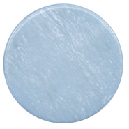 35 mm platte Polaris Elements cabochon Lively Powder blue