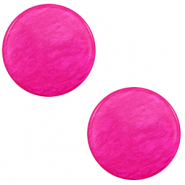 20 mm platte Polaris Elements cabochon Lively Magenta purple