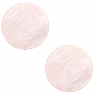 12 mm platte Polaris Elements cabochon Lively Delicacy pink