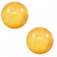 20 mm classic Polaris Elements cabochon Mosso shiny Mineral yellow