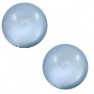 12 mm classic Polaris Elements cabochon soft tone shiny Powder blue