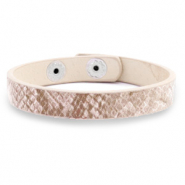 Hippe armbanden snake Light vintage rose