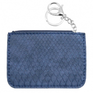 Hippe Portemonnees snake Dark blue