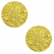 12 mm platte Polaris Elements cabochon Goldstein Empire yellow