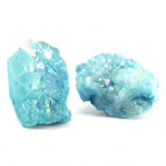 Chips stone kraal crystal quartz Turquoise blue