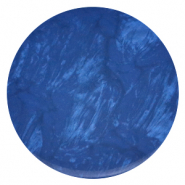 Polaris Elements platte cabochons in 35 mm Lively Iolite blue