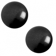 20 mm classic Polaris Elements cabochon soft tone Nero black