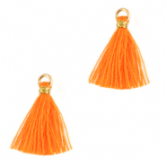 Kwastje 1.5cm Gold-flame orange