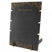 "Sieraden display hout voor kettingen ""New Collection"" Black"