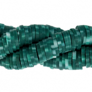 Kralen Katsuki 6mm Dark teal green
