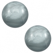 20 mm classic Polaris Elements cabochon pearl shine Sea grey