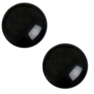 20 mm classic Polaris Elements cabochon Mosso shiny Jet black