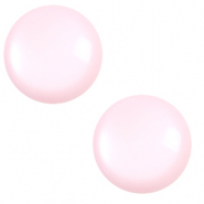 12 mm classic Polaris Elements cabochon shiny Seashell pink
