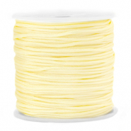 Macramé draad 1.5mm Sunlight yellow