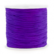 Macramé draad 0.8mm Electric purple