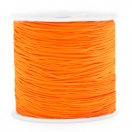Macramé draad 0.8mm Neon orange