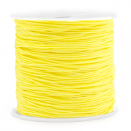 Macramé draad 0.8mm Sunshine yellow