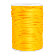 Draad van satijn 2.5mm Sunflower yellow