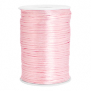 Draad van satijn 2.5mm Light rose