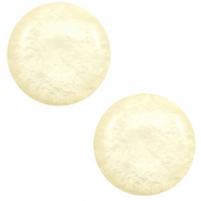 20 mm classic Polaris Elements cabochon Mosso shiny Cream yellow