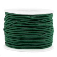 Gekleurd elastiek 2mm Eden green