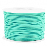 Gekleurd elastiek 1.5mm Neo mint green