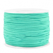 Gekleurd elastiek 1.2mm Neo mint green