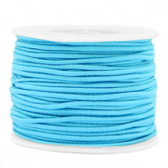 Gekleurd elastiek 2mm Light blue