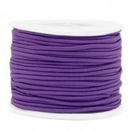 Gekleurd elastiek 2mm Purple