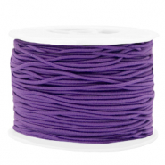 Gekleurd elastiek 1.5mm Purple