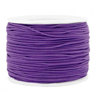 Gekleurd elastiek 1.2mm Purple