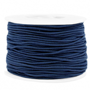 Gekleurd elastiek 1.5mm Dark blue