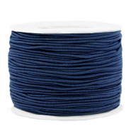 Gekleurd elastiek 1.2mm Dark blue