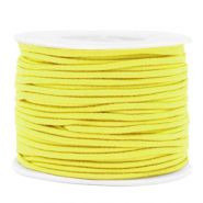 Gekleurd elastiek 2mm Yellow