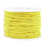 Gekleurd elastiek 1.5mm Yellow