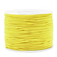 Gekleurd elastiek 1.2mm Yellow