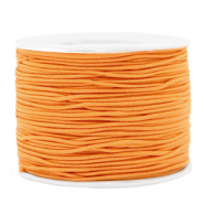 Gekleurd elastiek 1.2mm Paradise orange