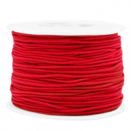 Gekleurd elastiek 1.5mm Red