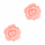 Roosje kralen 10mm Bridal rose