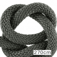 Koord Maritiem 10mm (270cm) Dark grey