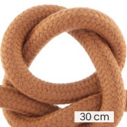 Koord Maritiem 10mm (3x30cm) Terracotta brown