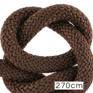 Koord Maritiem 10mm (270cm) Dark brown